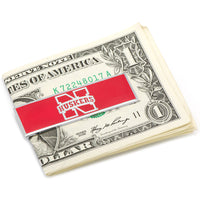 University of Nebraska Cornhuskers Money Clip-Money Clip-Here Comes The Bling™