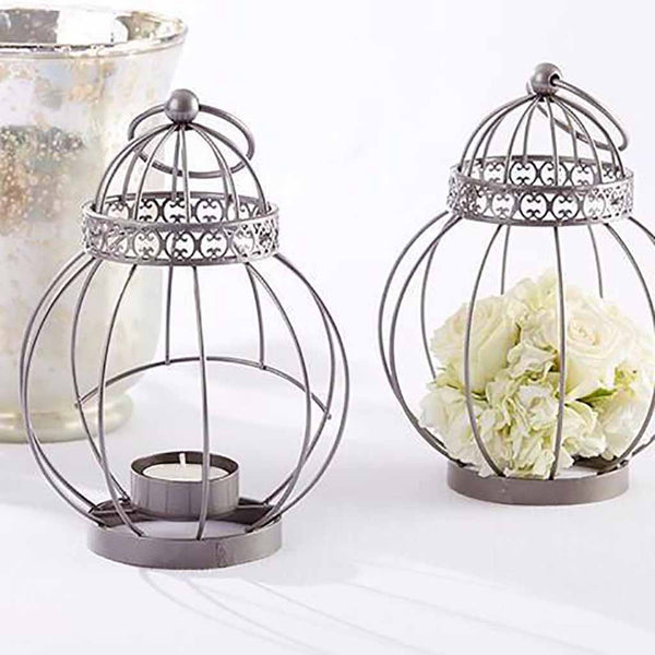 Vintage Bird Cage with Tea Light Lantern-Decor-Candle Holder-Here Comes The Bling™