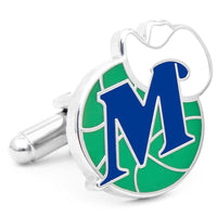 Vintage Dallas Mavericks Cufflinks-Cufflinks-Here Comes The Bling™