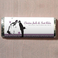 Vintage Hollywood Nut Free Gourmet Milk Chocolate Bar-Favors-Edible-Here Comes The Bling™