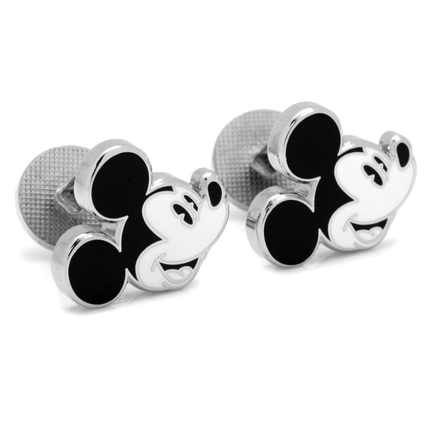 Vintage Mickey Head Cufflinks-Cufflinks-Here Comes The Bling™