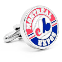 Vintage Montreal Expos Cufflinks-Cufflinks-Here Comes The Bling™