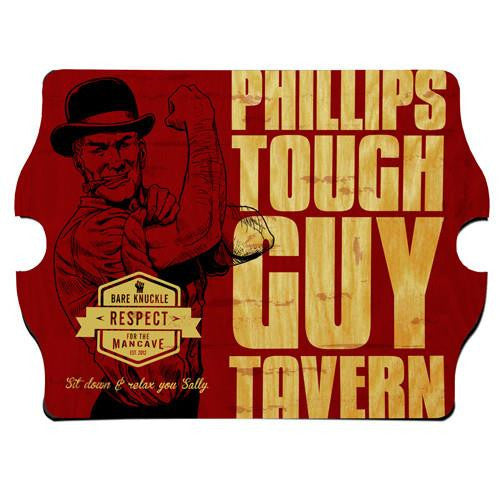 Vintage Series Personalized Signs - TOUGHGUY-Sign-Here Comes The Bling™
