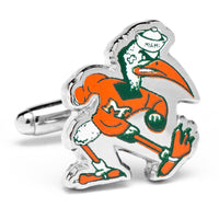 Vintage University of Miami Hurricanes Cufflinks-Cufflinks-Here Comes The Bling™