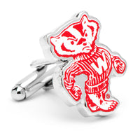 Vintage University of Wisconsin Badgers Cufflinks-Cufflinks-Here Comes The Bling™