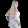 Lace Trimmed Mantilla Bridal Veil