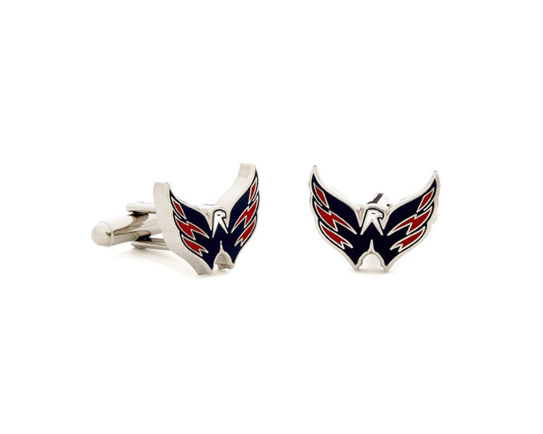 Washington Capitals Cufflinks-Cufflinks-Here Comes The Bling™