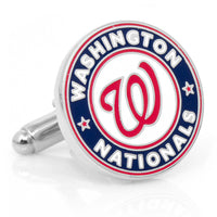 Washington Nationals Cufflinks-Cufflinks-Here Comes The Bling™