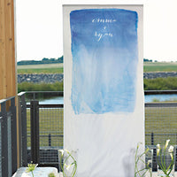 Watercolor Personalized Photo Backdrop-Photo Backdrop-Here Comes The Bling™