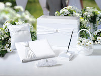 Wedding In A Box - White-Card Box-Here Comes The Bling™