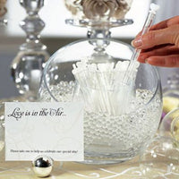 "Wedding ""Love Bubble"" Wands Pack of 24-Bubbles-Here Comes The Bling™"