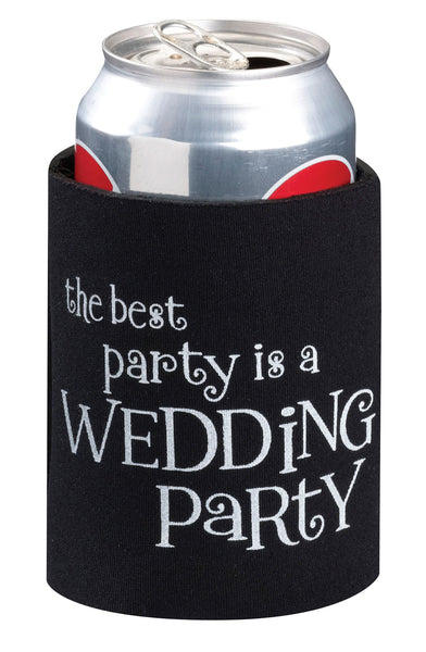 Wedding Party Cup Cozy-Cup Coozy-Here Comes The Bling™