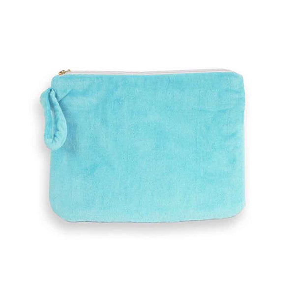 """Wet Bikini"" Bag in Aqua-Pouch-Here Comes The Bling™"