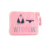 """Wet Bikini"" Bag in Pink-Pouch-Here Comes The Bling™"
