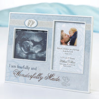 Wonderfully Made Ultrasound Frame-Blue-Frames-Here Comes The Bling™