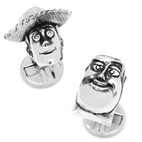 Woody and Buzz 3D Cufflinks-Cufflinks-Here Comes The Bling™