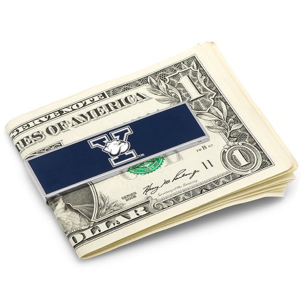 Yale University Bulldogs Money Clip-Money Clip-Here Comes The Bling™