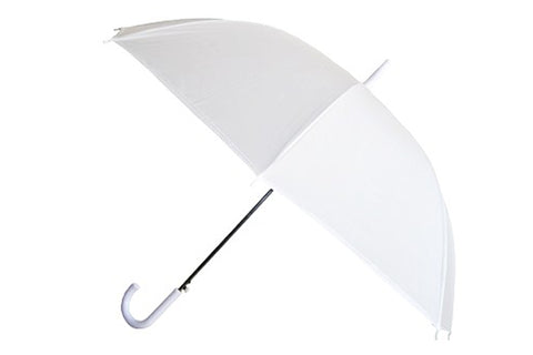 Wholesale White Wedding Umbrella (6 pcs. pack) - $4.16/piece