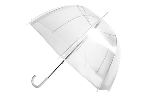 Wholesale Clear Dome Umbrella (6 pcs. pack) - $4.16/piece - WholesaleUmbrellas.com