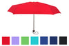 Wholesale Solid Color Lightweight Compact Folding Umbrellas (6 pcs. pack) - $4.99/piece