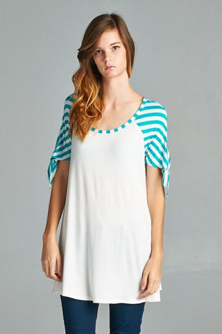 Striped Tunic - Affordable Urban Women's Fashion Boutique|StyleGirl  - 1
