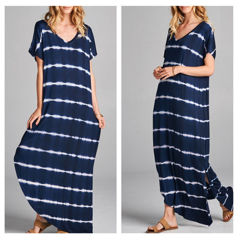 Tie Dye Lounge Maxi Dress