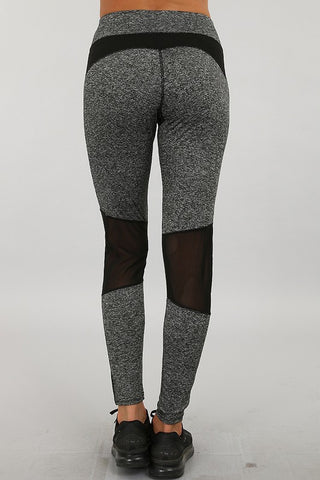Yoga Small Patch Leggings - Affordable Urban Women's Fashion Boutique|StyleGirl  - 1