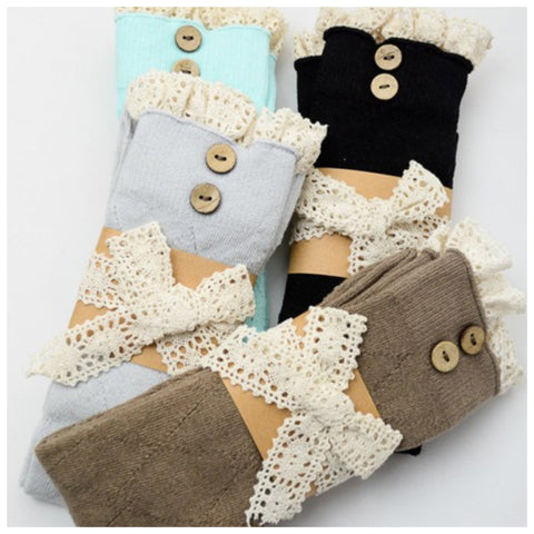 Diamond Knit Boot Socks - Affordable Urban Women's Fashion Boutique|StyleGirl  - 1