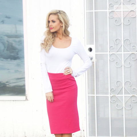 Favorite Pencil Skirt - Affordable Urban Women's Fashion Boutique|StyleGirl  - 1