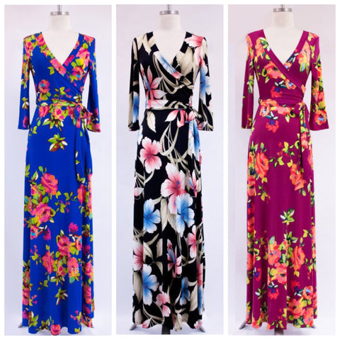 Floral + Fauna Maxi Dresses - Affordable Urban Women's Fashion Boutique|StyleGirl