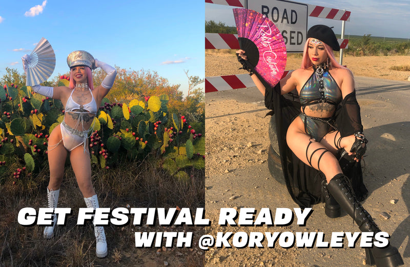Get Festival Ready with @koryowleyes