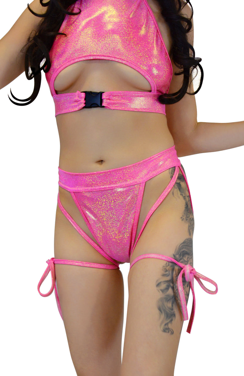 Sweetheart Bottoms - Olive Pink - Rolita Couture