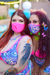 Sub Z-Ro Face Mask - Neon Pink