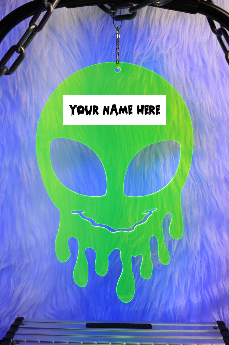 Dripping Alien Custom Name