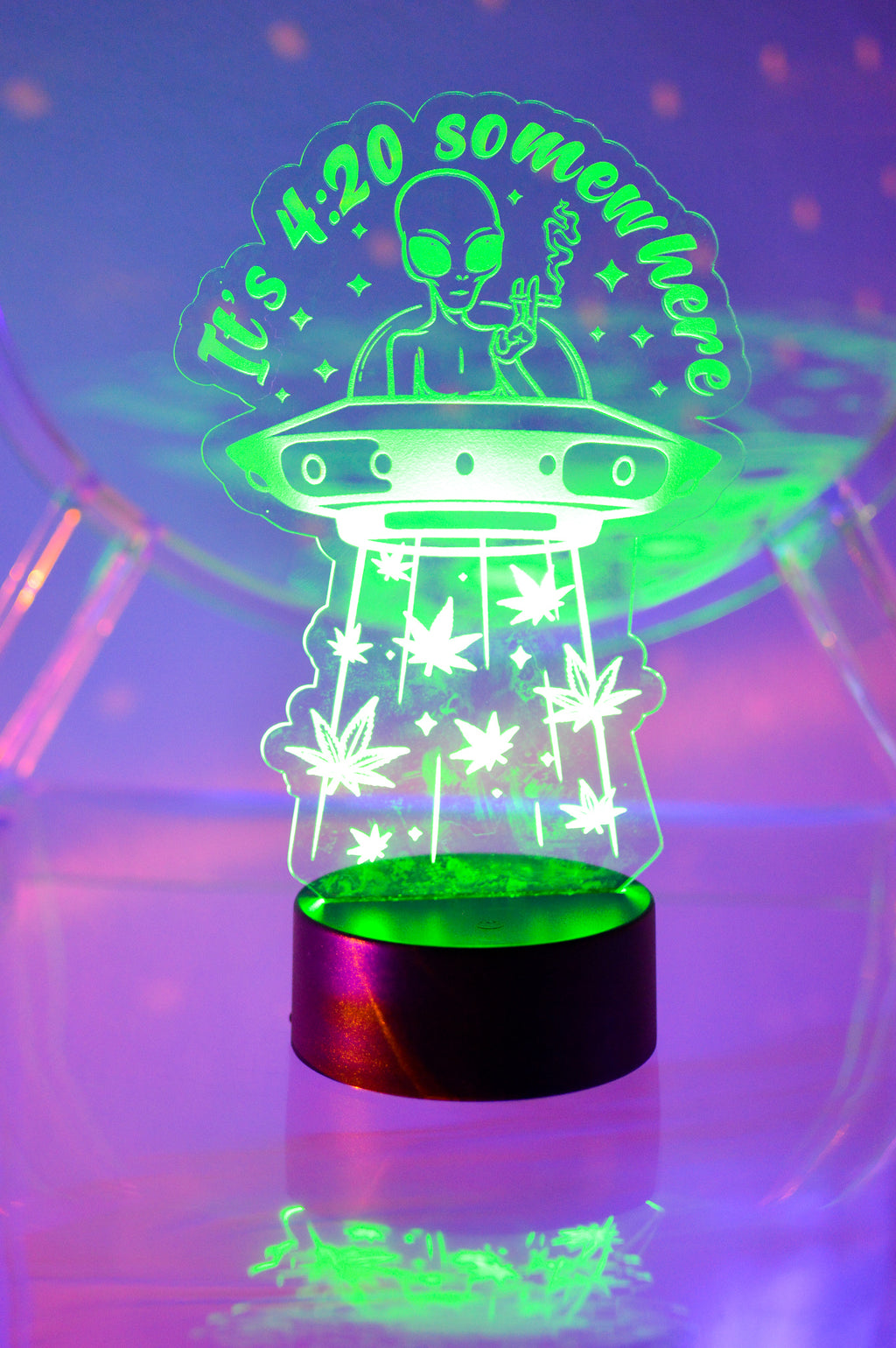 It's 4:20 LED Lamp