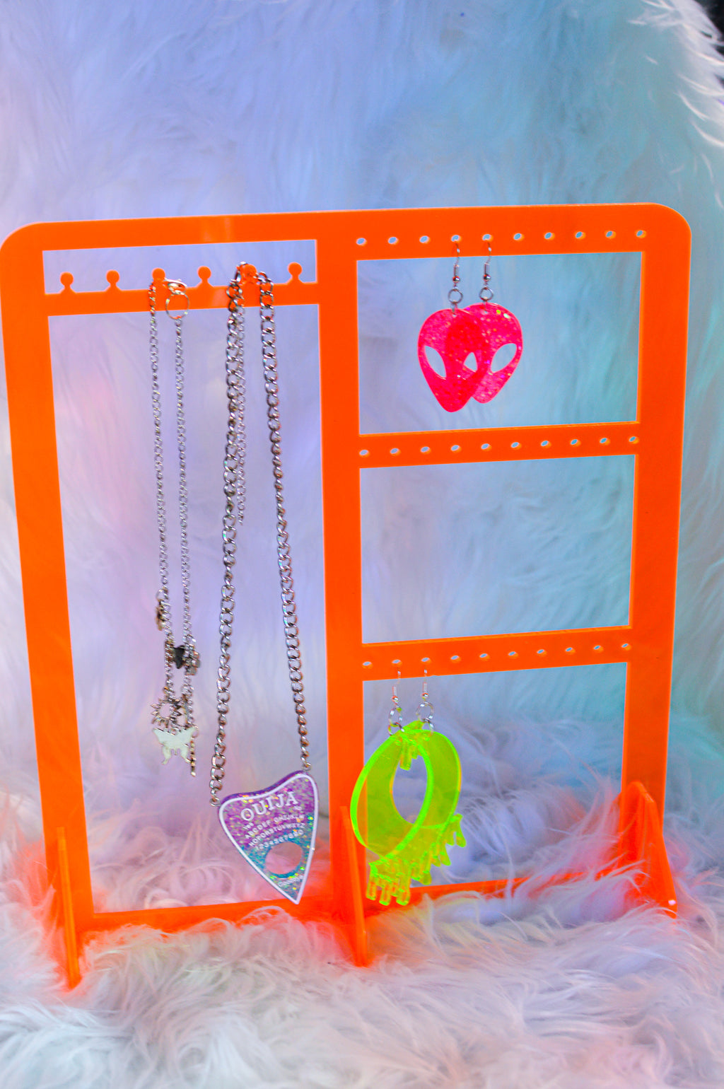 Funky Jewelry Holder - Orange
