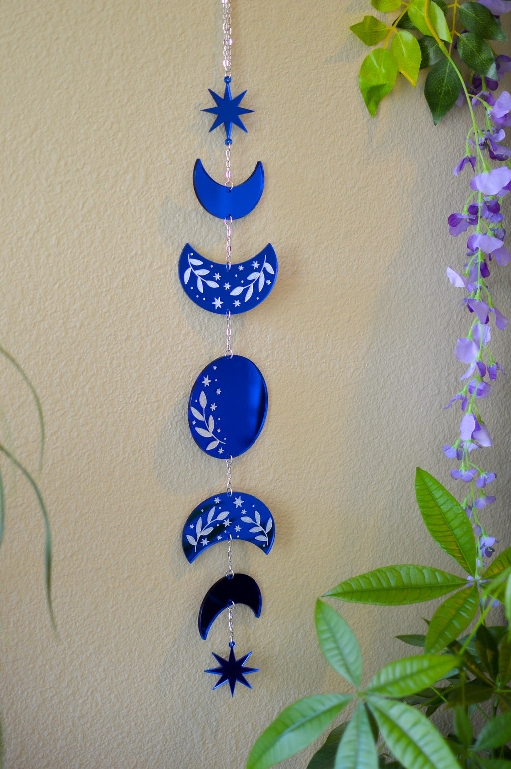 Moon Phase Wall Hanger - Mirror