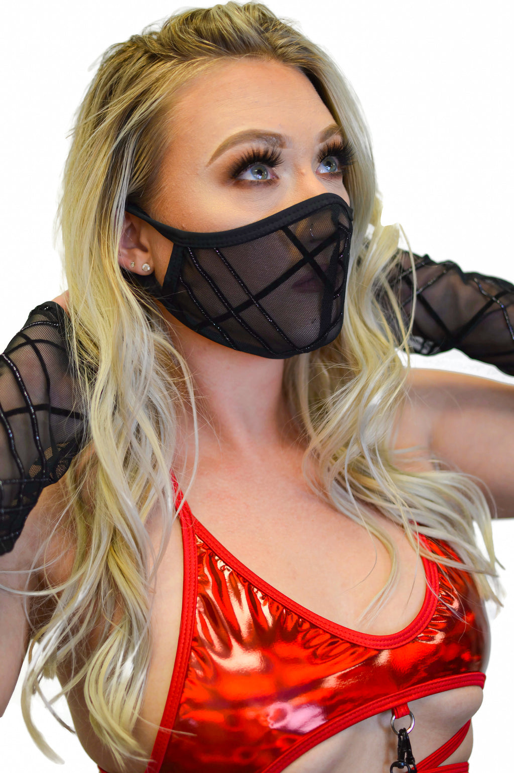 Sub Z-Ro Face Mask - Black Pleated (PRE-ORDER)