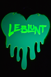 Dripping Heart Custom Name - Green