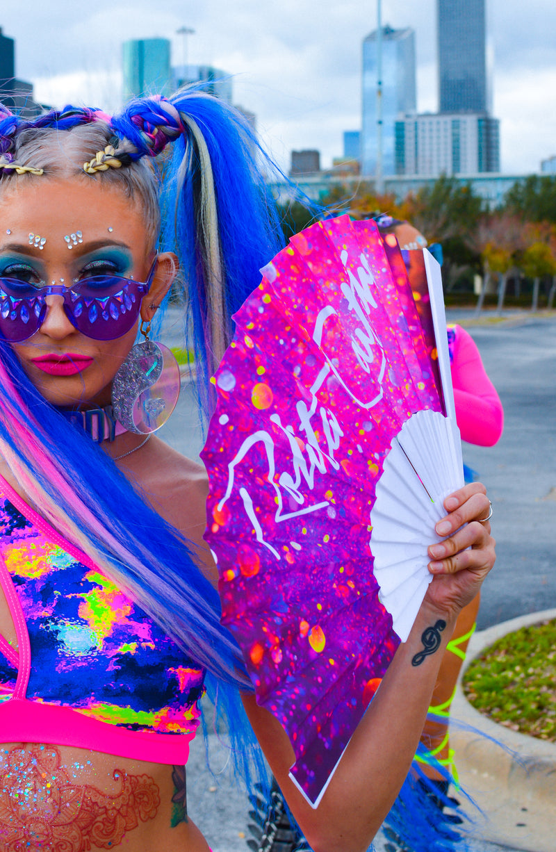 RC Hand Fan - Rolita Couture