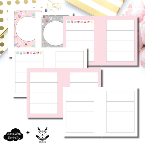 Micro HP Inserts - New Weeks Horizontal Layout // Collabs with Annie Plans Printables & HappyDaya