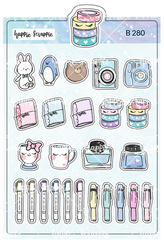 Planner Stickers : My Favorite Things - Elements 1 (B280)