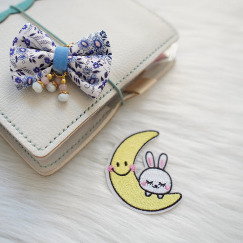 Fabric Patch : Constellation // Moon Bunny