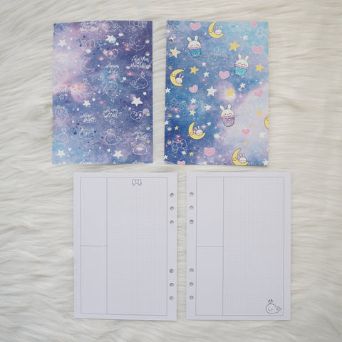Disc / Rings Planner Inserts - Constellation // Weekly (Annie Plans Collab)