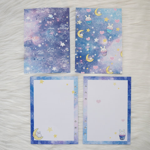 Disc / Rings Planner Inserts - Constellation // Dotted
