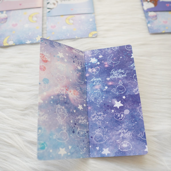 Travel Notebook (All Sizes) - Constellation // Weekly of 4 page // Collabs with Annie Plans Printables