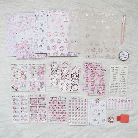 Happie Planner Kit : Blossom // March 2019