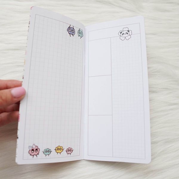 Travel Notebook (All Sizes) - Blossom  // Daily // Collabs with Annie Plans Printables