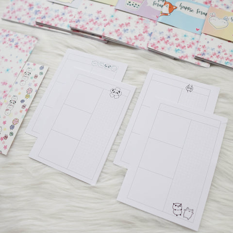 Disc / Rings Planner Inserts - Blossom // Daily (Annie Plans Collab)