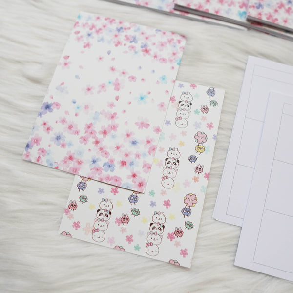 Disc / Rings Planner Inserts - Blossom // Dotted